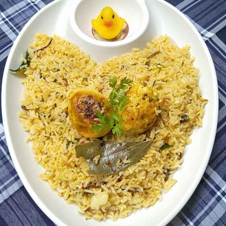 Photo of Fried  egg biryani by Pasumarthi Poojitha at BetterButter