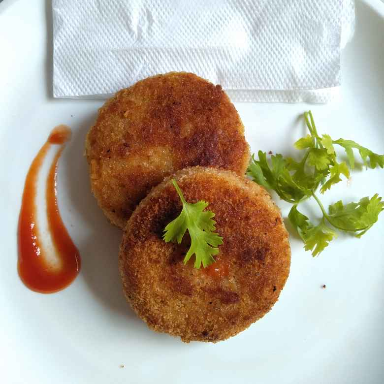 Photo of Aloo tikki cutlet by Pasumarthi Poojitha at BetterButter