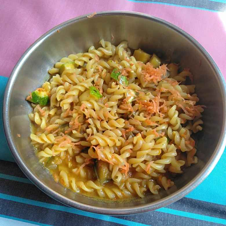 Photo of Egg plant pasta recipe  by Pasumarthi Poojitha at BetterButter