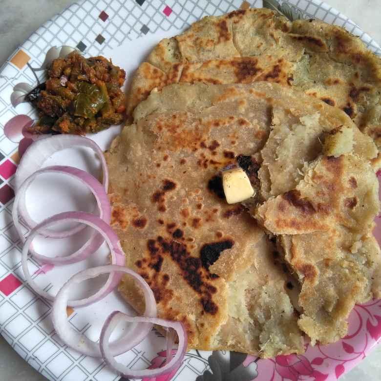 Photo of  sweet potato parota by Pasumarthi Poojitha at BetterButter