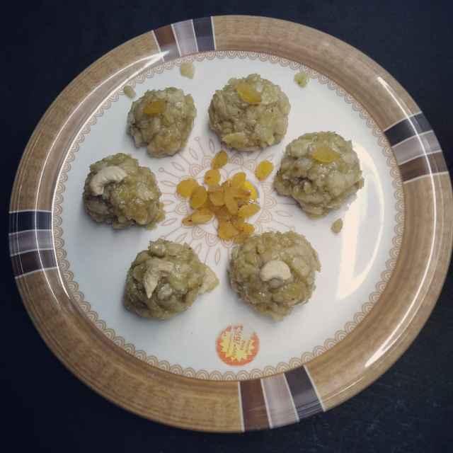 Photo of Rice flour malila laddu by Pasumarthi Poojitha at BetterButter