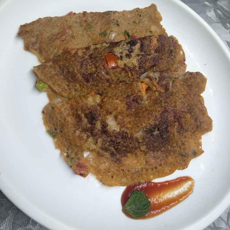 Photo of Spicy wheat flour pancake by Pasumarthi Poojitha at BetterButter