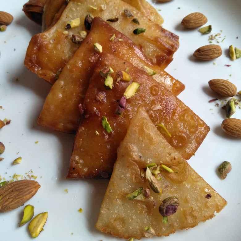 Photo of Badam puri sweet by Pasumarthi Poojitha at BetterButter