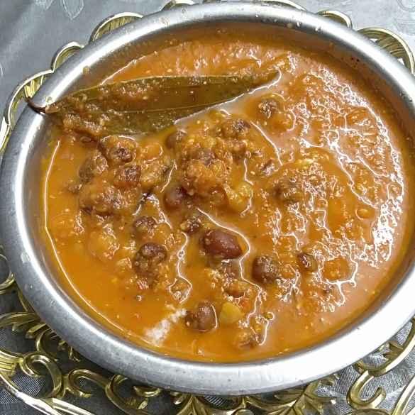 Photo of Black chana masala curry by Pasumarthi Poojitha at BetterButter