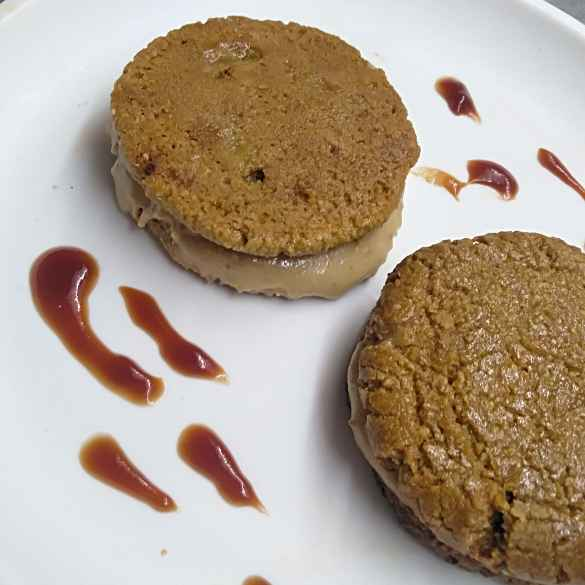 Photo of Peanut butter banana ice cream sandwiches by Pasumarthi Poojitha at BetterButter