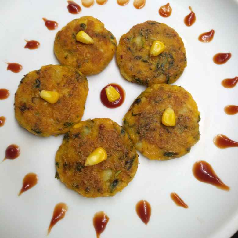 Photo of Sweetcorn methi kebab by Pasumarthi Poojitha at BetterButter