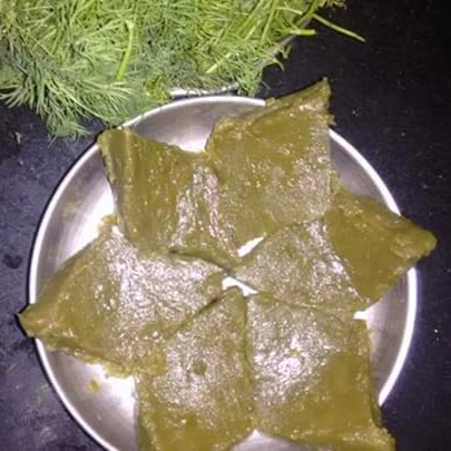How to make Dill Leaves Halwa
