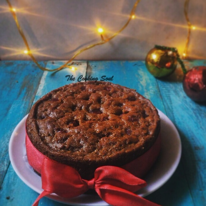 How to make Christmas Fruit Cake