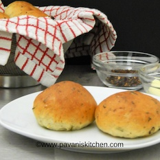 Photo of Masala Buns Recipe | Masala Bread by Pavani Gunikuntla at BetterButter