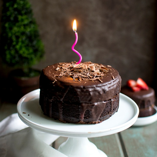 How to make Chocolate Cake with Chocolate Filling and Ganache