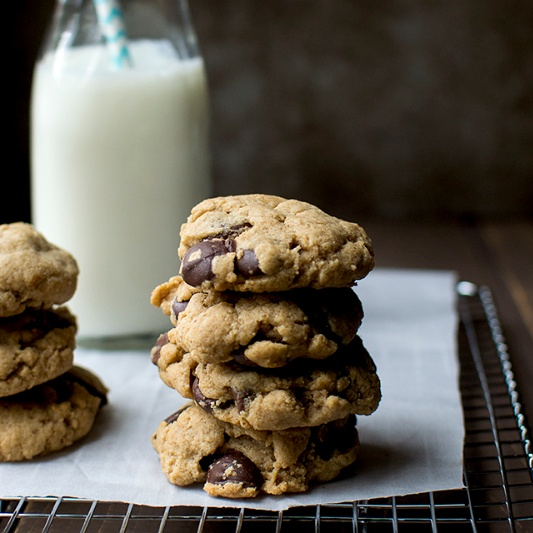 How to make Wholewheat Chocolate Chip Cookies
