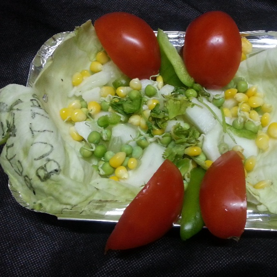 How to make Triple salad