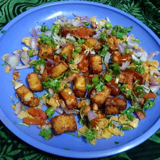 Photo of SPICY FRY PANEER CHAT by pa vani at BetterButter