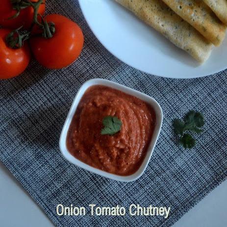 How to make Onion Tomato Chutney