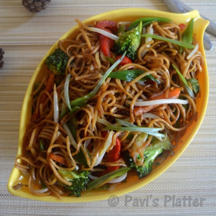 How to make Veg Chow mein