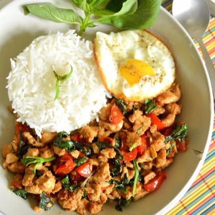 How to make Thai Basil Chicken (pad kra pao gai)