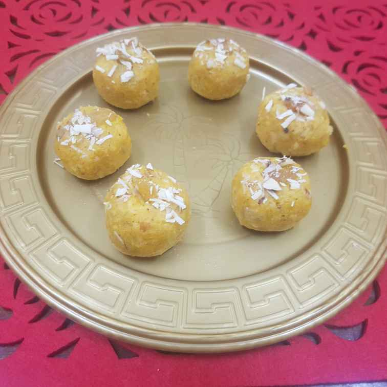 Photo of Pumpkin coconut ladoo by Pavithra Prasad at BetterButter