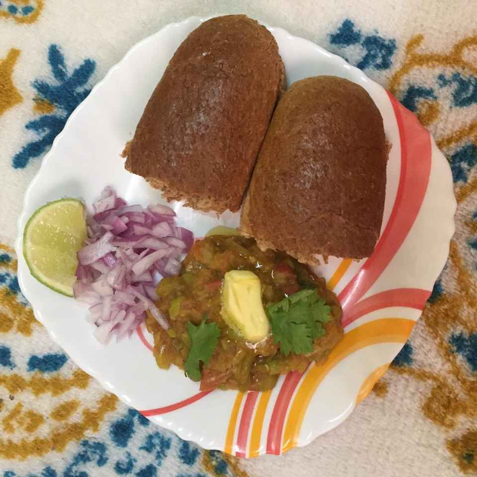 Photo of Pav bhaji ( Mumbai street food special ) by Pavithra Prasad at BetterButter
