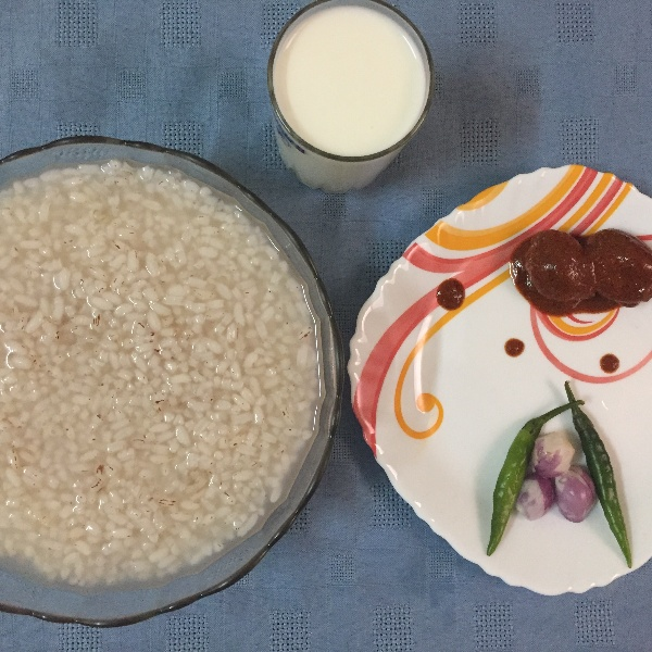 How to make Fermented Rice Gruel/ Pazhaya kanji/ Pazhaya sadham