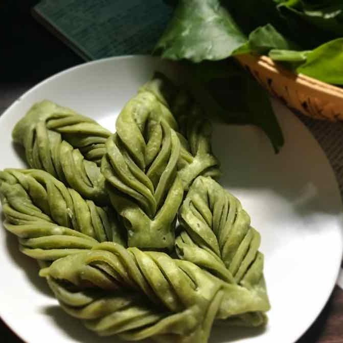 How to make leaf mathri