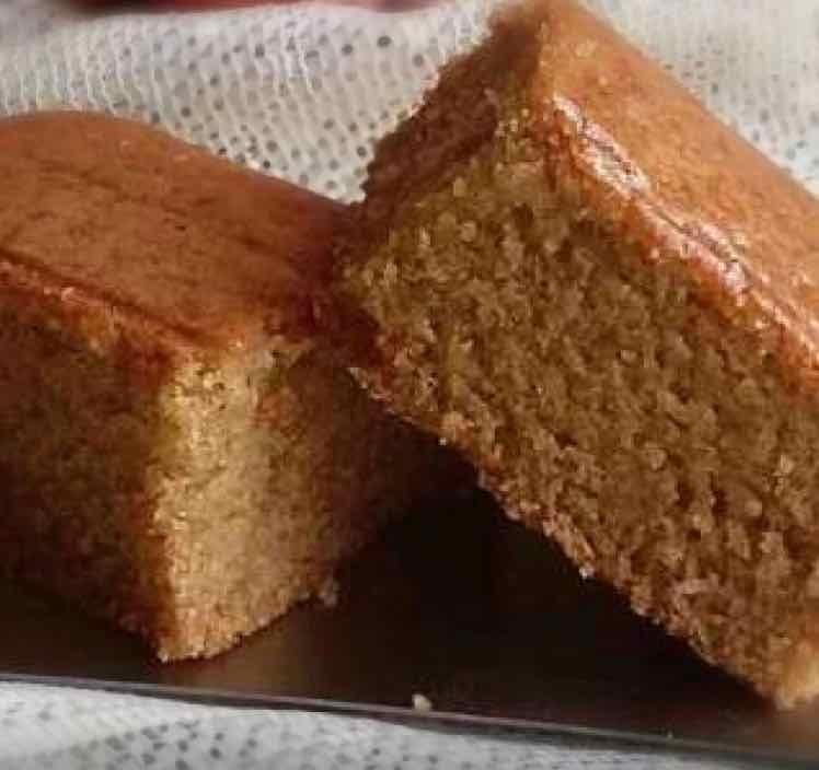 Photo of eggless whole wheat apple raisins cake by payal jain at BetterButter