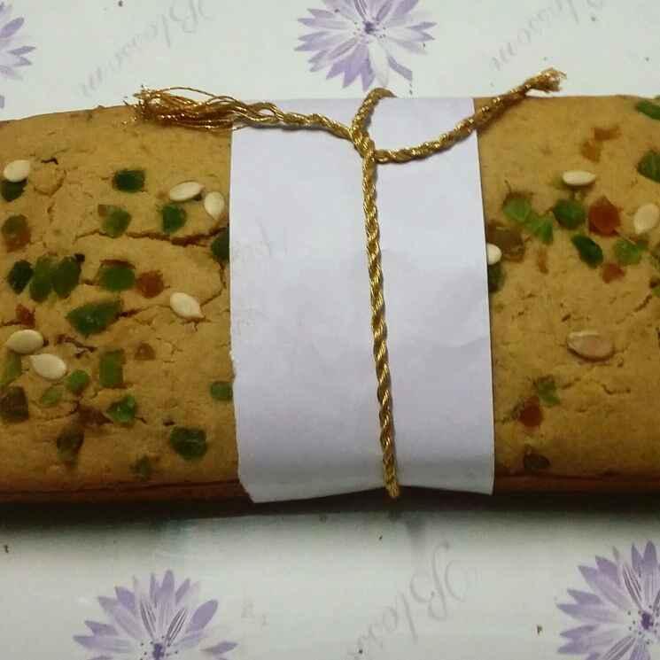 Photo of Eggless Whole Wheat Tutti Frutti Cake by payal jain at BetterButter
