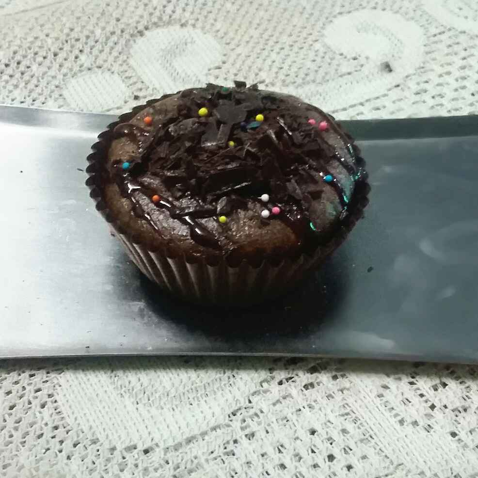 Photo of chocolate mayo cup cake by payal jain at BetterButter