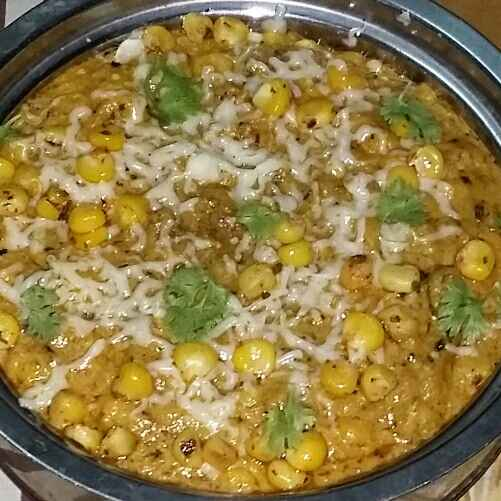 Photo of cheese corn curry by payal jain at BetterButter