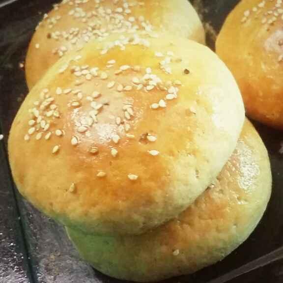 How to make बर्गर बन (गेहूं आटे से बना)