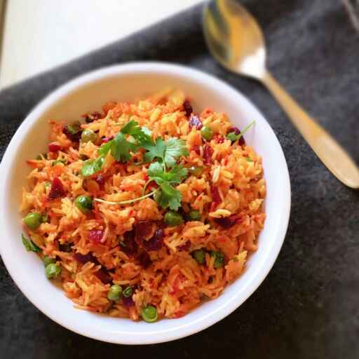 How to make Beetroot pulao