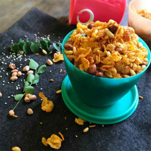 Photo of cornflakes chivda by payal jain at BetterButter