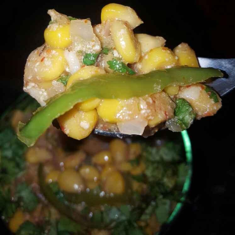 How to make Masala curd corn