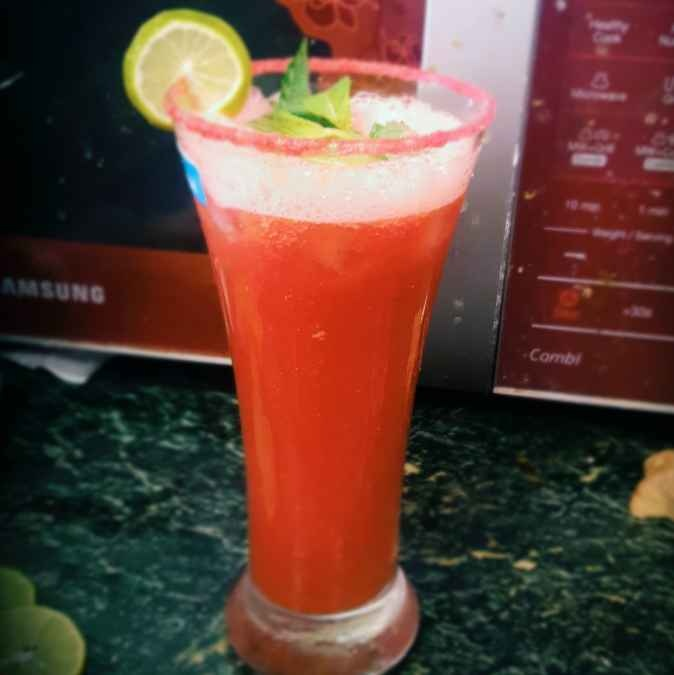 Photo of Watermelon pudina twist by Payal Singhania at BetterButter