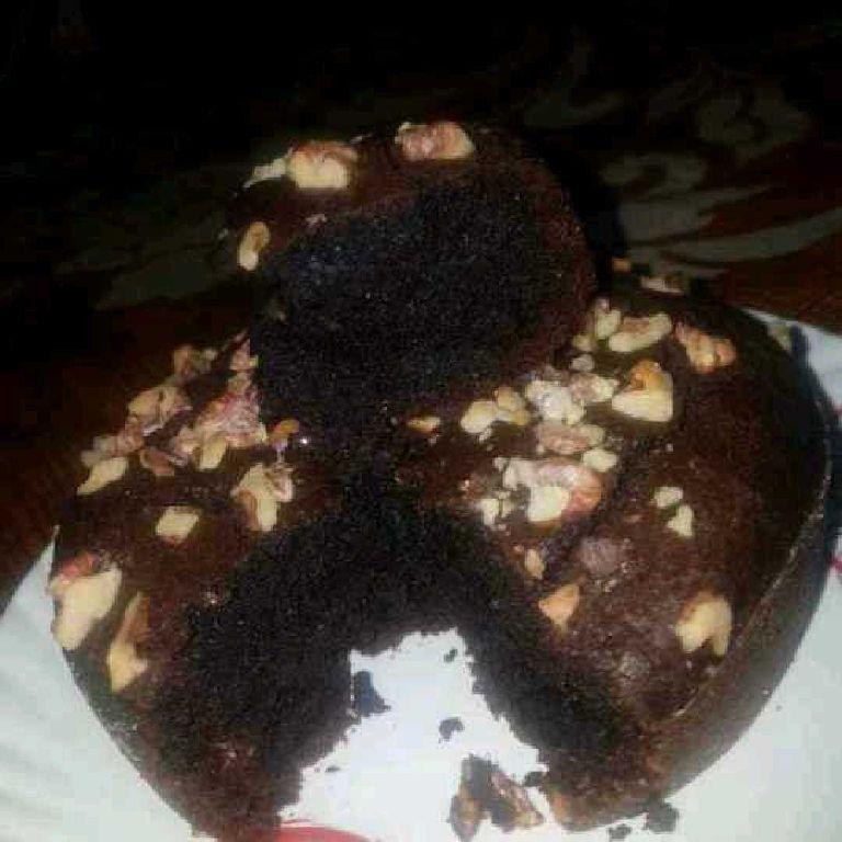 How to make आटे अखरोट का केक