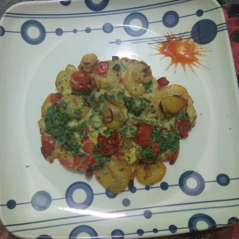 Photo of Spanish Omelette by Payel Bhattacharya at BetterButter