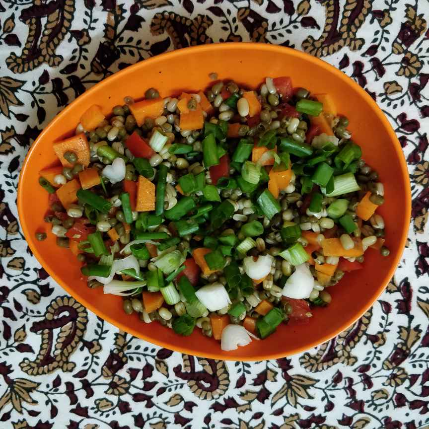 Photo of Sprout chaat by Prabha Puranik at BetterButter