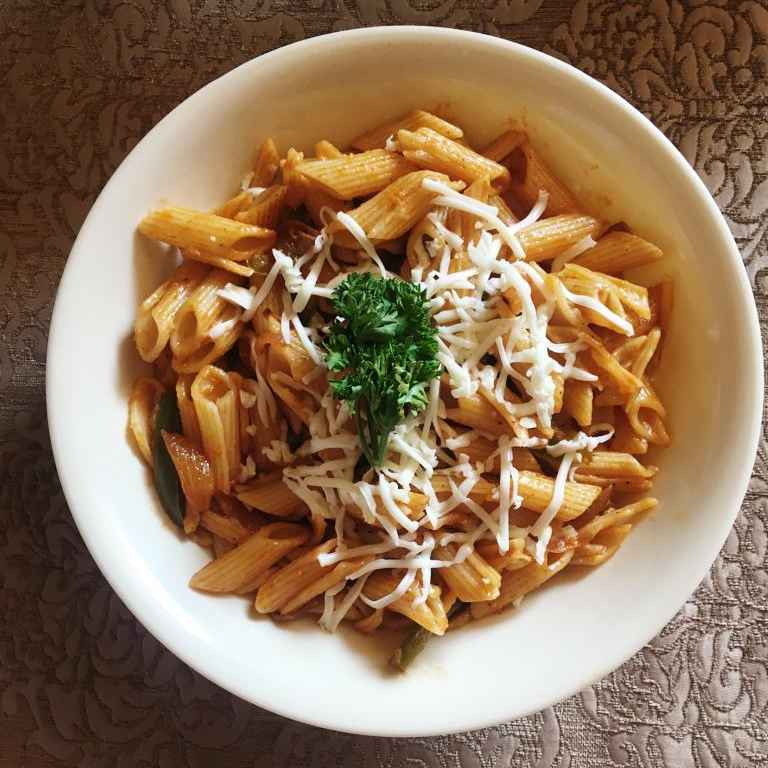 Photo of Tangy Penne Pasta by Prabha Puranik at BetterButter