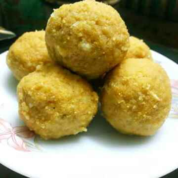 How to make বেসন এর লাডু