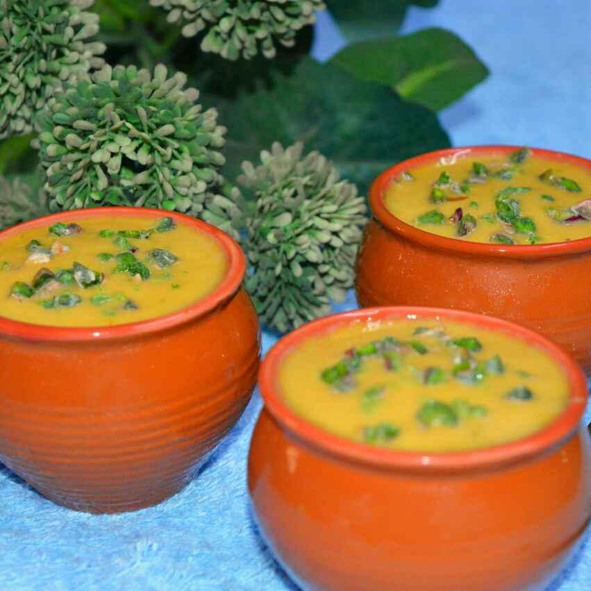 How to make Motka Mango Kulfi
