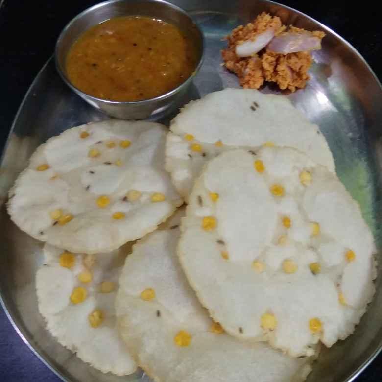 How to make Kammani appalu.   Menthi pappu