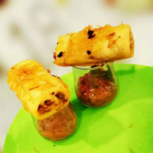 Photo of Dhokla cigar roll by Pia Thacker at BetterButter