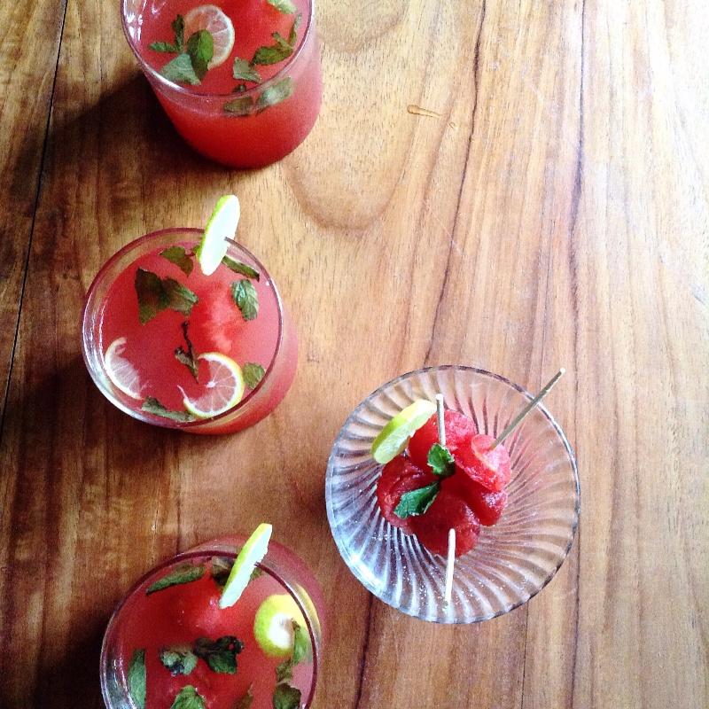 How to make Virgin Watermelon Mojito