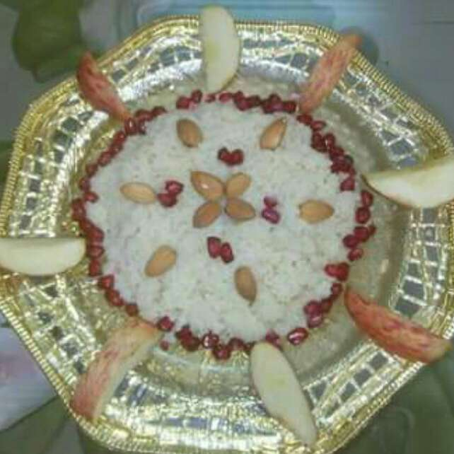 Photo of Fruit suji halwa (apple, banana pulp added) by Pina Raval at BetterButter