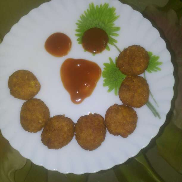 How to make Left over rice tikki