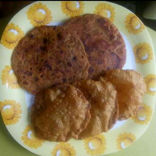 Photo of Leftover udaddal puri andparatha by Pina Raval at BetterButter