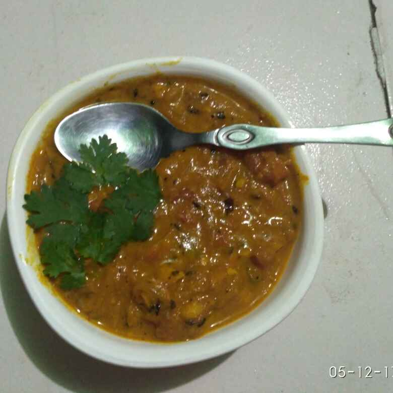 How to make Tomato butter masala