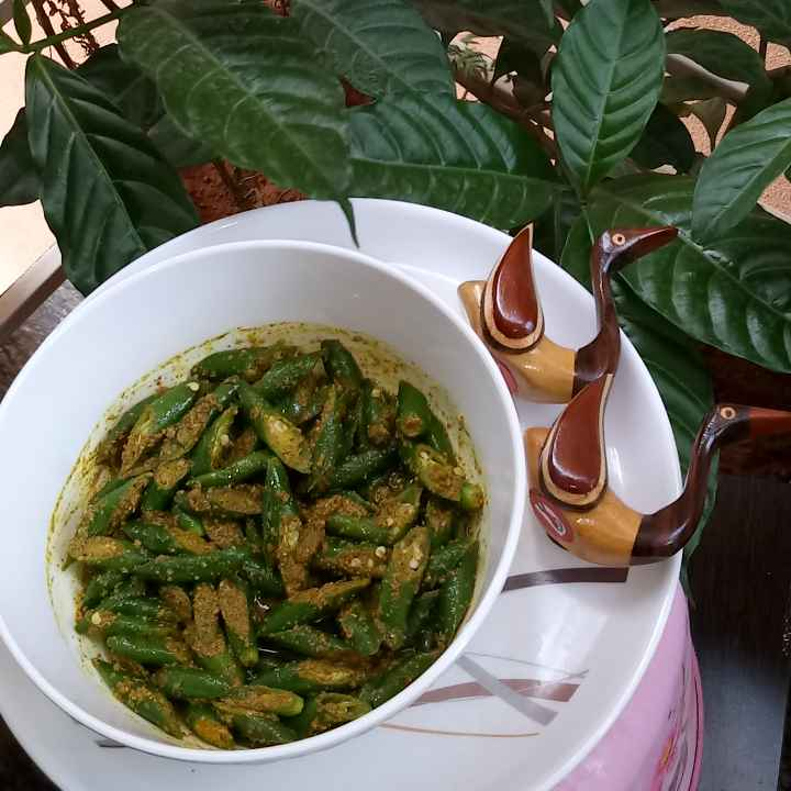 Photo of Green chilli pickle by piu das at BetterButter