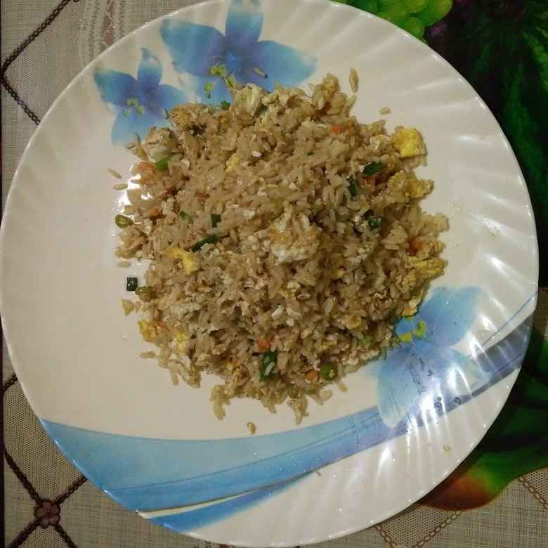How to make এগ রাইস