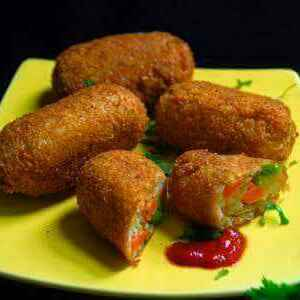 How to make Vegetable roll