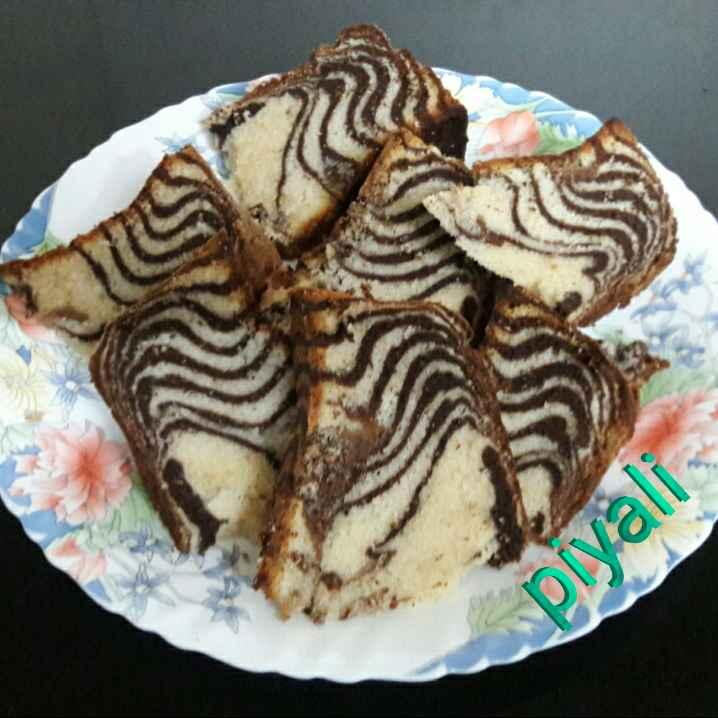 Photo of Zebra Cake by Piyali Sengupta at BetterButter